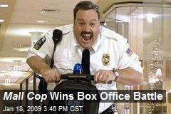 Mall Cop Wins Box Office Battle