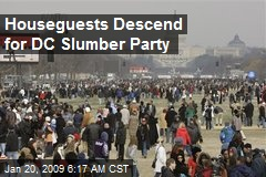 Houseguests Descend for DC Slumber Party