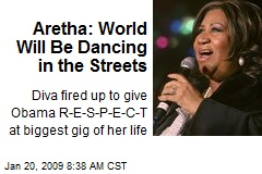 Aretha: World Will Be Dancing in the Streets