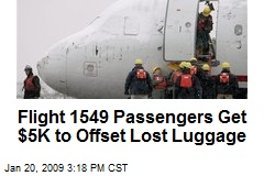 Flight 1549 Passengers Get $5K to Offset Lost Luggage