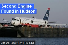 Second Engine Found in Hudson