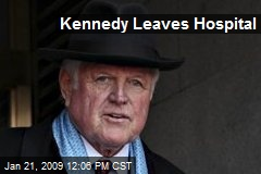 Kennedy Leaves Hospital