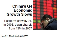 China's Q4 Economic Growth Slows