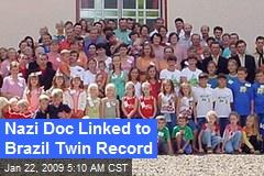 Nazi Doc Linked to Brazil Twin Record