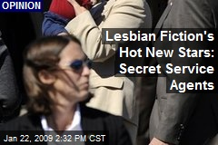 Lesbian Fiction's Hot New Stars: Secret Service Agents