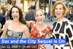 Sex and the City Sequel Is On