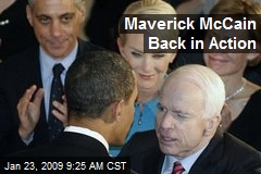 Maverick McCain Back in Action