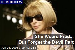 She Wears Prada, But Forget the Devil Part