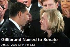 Gillibrand Named to Senate