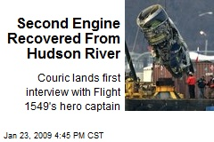 Second Engine Recovered From Hudson River
