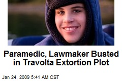 Paramedic, Lawmaker Busted in Travolta Extortion Plot