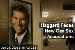 Haggard Faces New Gay Sex Accusations