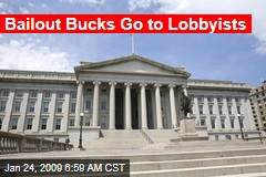 Bailout Bucks Go to Lobbyists