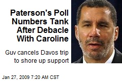 Paterson's Poll Numbers Tank After Debacle With Caroline
