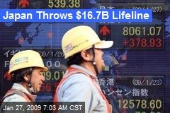 Japan Throws $16.7B Lifeline