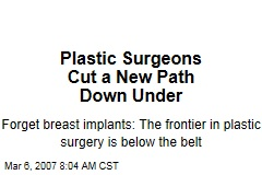 Plastic Surgeons Cut a New Path Down Under