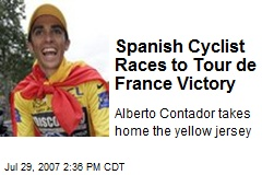 Spanish Cyclist Races to Tour de France Victory