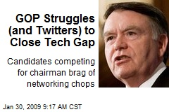 GOP Struggles (and Twitters) to Close Tech Gap