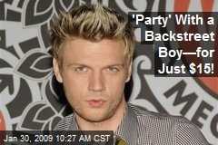 'Party' With a Backstreet Boy—for Just $15!