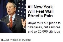 All New York Will Feel Wall Street's Pain