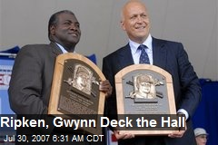Ripken, Gwynn Deck the Hall
