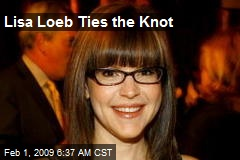 Lisa Loeb Ties the Knot