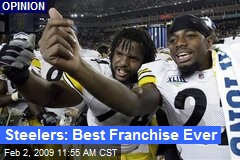 Steelers: Best Franchise Ever