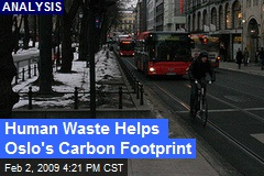 Human Waste Helps Oslo's Carbon Footprint