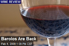 Barolos Are Back