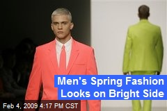 Men's Spring Fashion Looks on Bright Side