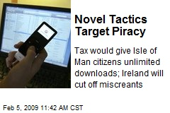 Novel Tactics Target Piracy