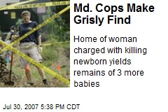 Md. Cops Make Grisly Find