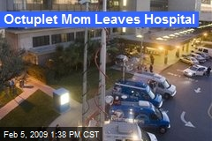 Octuplet Mom Leaves Hospital