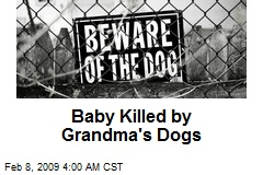 Baby Killed by Grandma's Dogs