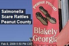 Salmonella Scare Rattles Peanut County