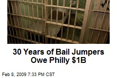 30 Years of Bail Jumpers Owe Philly $1B