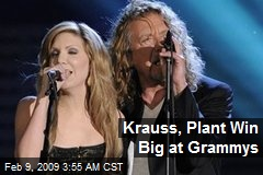 Krauss, Plant Win Big at Grammys