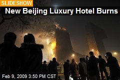 New Beijing Luxury Hotel Burns