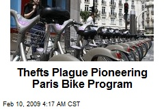 Thefts Plague Pioneering Paris Bike Program