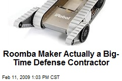Roomba Maker Actually a Big-Time Defense Contractor