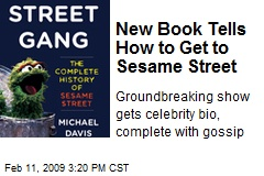 New Book Tells How to Get to Sesame Street