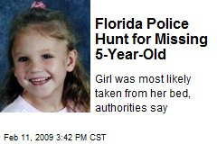 Florida Police Hunt for Missing 5-Year-Old