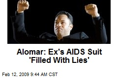 Alomar: Ex's AIDS Suit 'Filled With Lies'