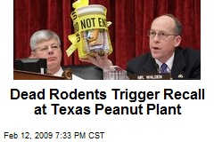 Dead Rodents Trigger Recall at Texas Peanut Plant