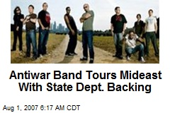 Antiwar Band Tours Mideast With State Dept. Backing