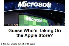Guess Who's Taking On the Apple Store?