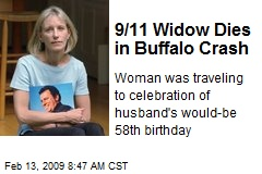 9/11 Widow Dies in Buffalo Crash