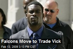 Falcons Move to Trade Vick