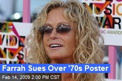 Farrah Sues Over '70s Poster