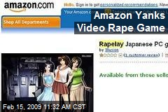 Amazon Yanks Video Rape Game